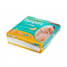 Подгузники PAMPERS Newborn jumbo mini 2 (3-6кг), 94шт