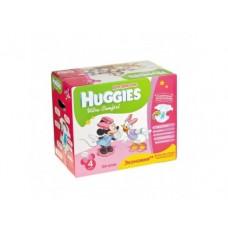 Подгузники HUGGIES Ultra Comfort для девочек 4 (8-14кг), 126шт