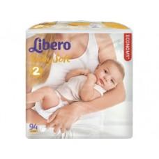 Подгузники LIBERO Baby soft mini 2 (3-6кг), 94 шт