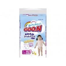 Подгузники GOON L 4 (9-14 кг), 48шт