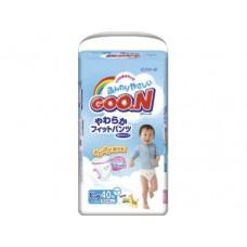 Подгузники GOON для мальчиков XL 5 (12-20 кг), 40шт