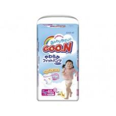 Подгузники GOON для девочек XL 5 (12-20 кг), 40шт