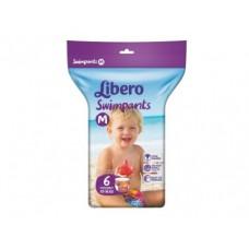 Подгузники-трусы для плавания LIBERO M 5 (10-16кг), 6шт