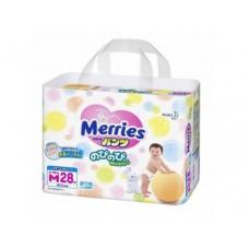 Подгузники MERRIES M 3 (6-10кг), 28шт