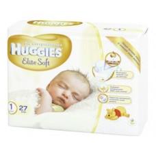 Подгузники HUGGIES Elite Soft 1 (до 5кг), 27шт