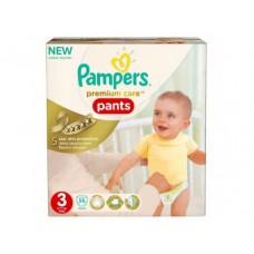 Подгузники-трусики PAMPERS Premium care midi 3 (6-11кг), 56шт
