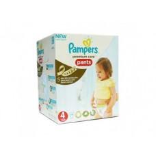 Подгузники-трусики PAMPERS Premium care maxi 4 (9-14 кг), 44 шт