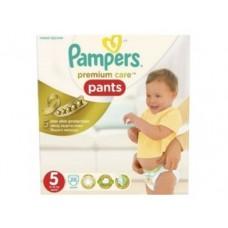 Подгузники-трусики PAMPERS Premium care junior 5 (15-18кг), 20шт