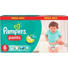 Подгузники-трусики PAMPERS 6 (16+кг), 88шт