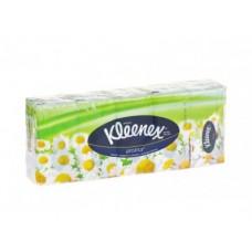Носовые платки KLEENEX ромашка, 10Х10см