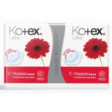 Прокладки KOTEX Ultra Normal Duo, 20шт