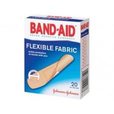 Пластырь BAND-AID&reg  эластичный, 20шт