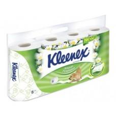 Туалетная бумага KLEENEX Нежная ромашка 3-слойная, 8рул