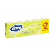 Носовые платочки ZEWA с ароматом ромашки, 10 шт
