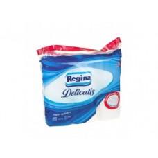 Туалетная бумага REGINA Delicatis, 9 рулонов