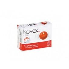 Прокладки KOTEX ночные, 7x16