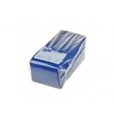 Салфетки BIG PACK однослойные синие, 25х25см