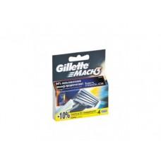 Кассеты для бритвенного станка GILLETTE mach3, 4шт