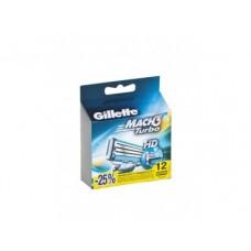 Кассеты сменные для бритья GILLETTE Mach3 Turbo