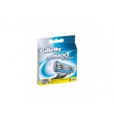 Кассеты для бритвенного станка GILLETTE mach3 turbо, 8шт