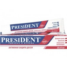 Зубная паста PRESIDENT Active, 75мл