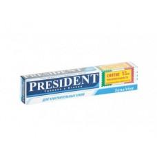 Зубная паста PRESIDENT Sensitive, 75мл