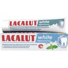 Зубная паста LACALUT white alpenminze, 75мл
