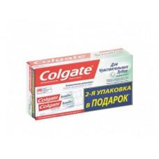Зубная паста COLGATE для чувствительных зубов, защита 1+1