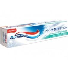 Зубная паста AQUAFRESH High Definition Морозная Мята, 75мл