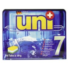 Таблетки UNIPLUS для посудомоечных машин 7в1, 36шт