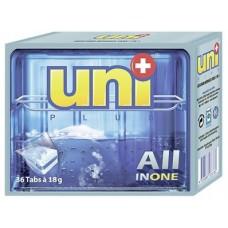 Таблетки UNIPLUS для посудомоечных машин, 36шт