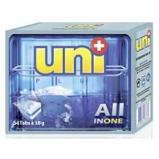 Таблетки UNIPLUS для посудомоечных машин, 54шт