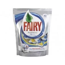 Капсулы для посудомоечных машин FAIRY PLATINUM, 40 шт