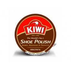Крем для обуви KIWI коричневый, 50мл