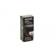 Крем-краска для волос SYOSS черный 1-1, 50мл