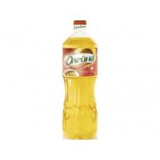 Подсолнечное масло ОЛЕЙНА Хрустящая Корочка,1л, 3 штуки