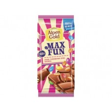 Шоколад ALPEN GOLD MAX FUN Арахис, 160г, 1 упаковка