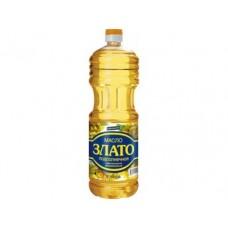 Подсолнечное масло ЗЛАТО масло рафинированное, дезодорированное, 2л, 1 штука