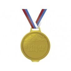 Медаль шоколадная SOCHI.RU 2014, 50г, 1 штука