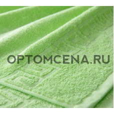 Махровое полотенце Туркменистан 50х90 салатовое 400 гр/м2