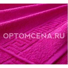 Махровое полотенце Туркменистан 70х140 малиновое 400 гр/м2