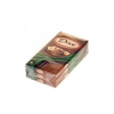 Шоколад DOVE молочный с фундуком, 100г, 3 штуки