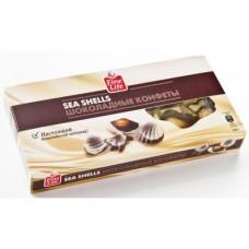 Конфеты FINE FOOD/FINE LIFE шоколадные ракушки, 125г, 1 штука