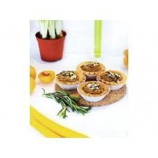 Набор пирожных ЦАРЬ-ПРОДУКТ корзиночка с шоколадом 4штх65г, 1 штука