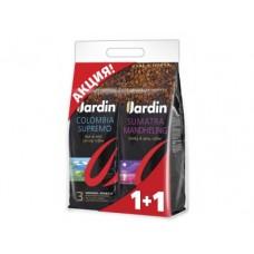 Кофе в зернах JARDIN промо-упаковка 1кг+1кг, 1 штука