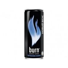 Энергетик BURN Blue Refresh ж/б, 0,33л, 12 штук