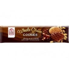 Печенье FINE FOOD Whole Grain овсяное с молочным с шоколадом, 200г, 1 штука