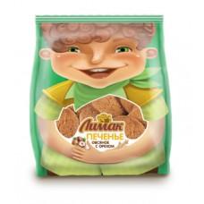 Печенье ЛИМАК овсяное с орехами (ГОСТ) 450 гр, 120 суток