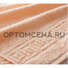 Махровое полотенце Туркменистан 70х140 персиковое 400 гр/м2