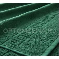 Махровое полотенце Туркменистан 40х70 изумрудное 400 гр/м2